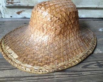 cf0cc802b36 Chinese Rattan Straw Hat