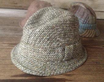 41d135c6888 Donegal Irish Wool Tweed Hat Country Wool Cap
