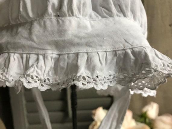 1 Antique French Maids Cap, Bonnet, Hat, Victoria… - image 7