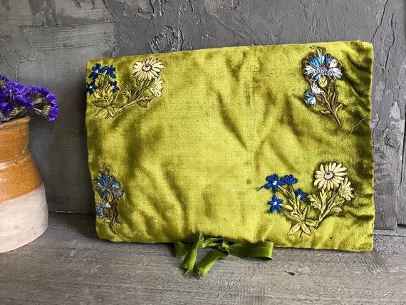 French Boudoir Lingerie Case, Velvet Boudoir Folde