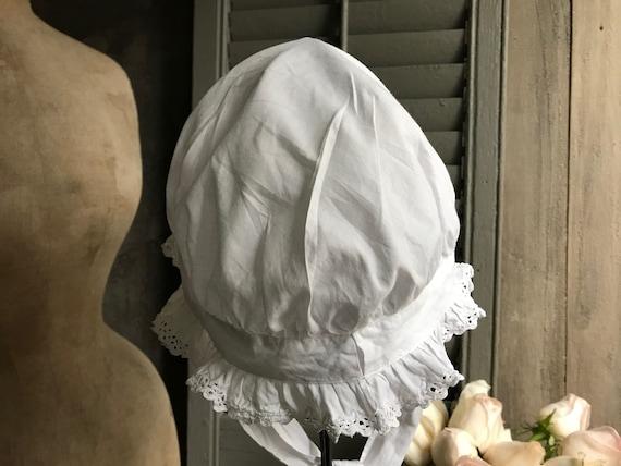 1 Antique French Maids Cap, Bonnet, Hat, Victoria… - image 8