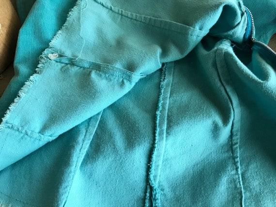 Southwestern, Turquoise Corduroy Shirt, Californi… - image 9