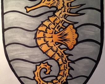 "Beasts of Heraldry - 18"" x 24"" poster"