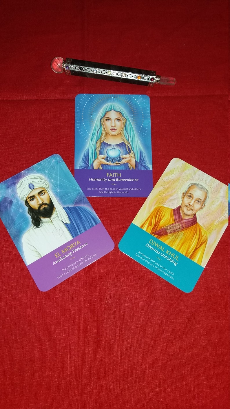 Keepers Of The Light Oracle Cards  Reading with TRHEE CARDS