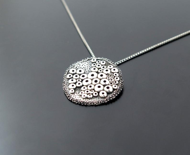 cosmic jewelry bubbles pendant bubble pendant necklace image 0