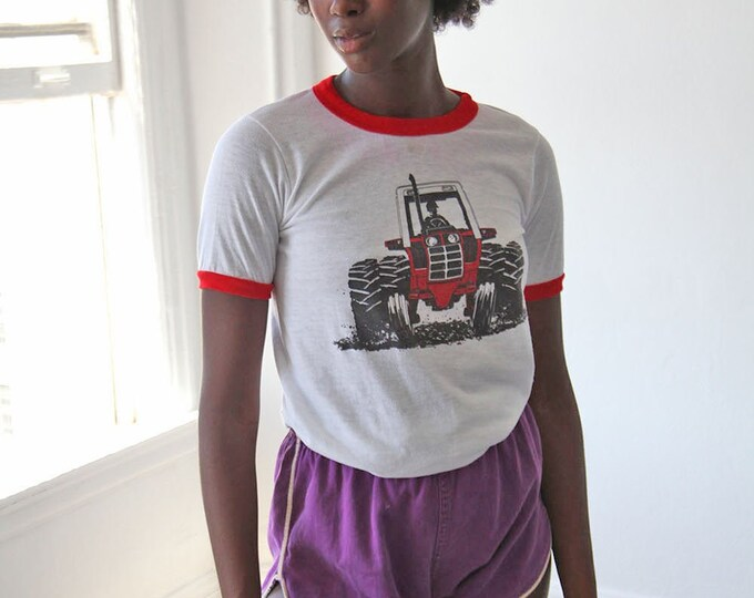 Tractor ringer tee