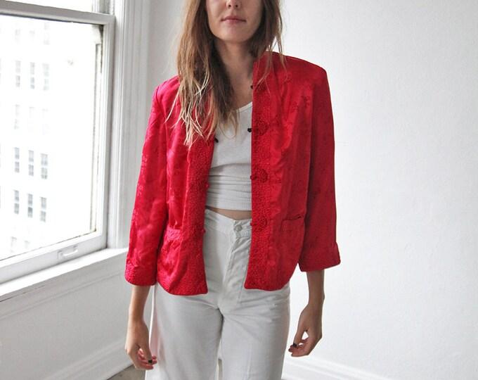Silk chinese jacket