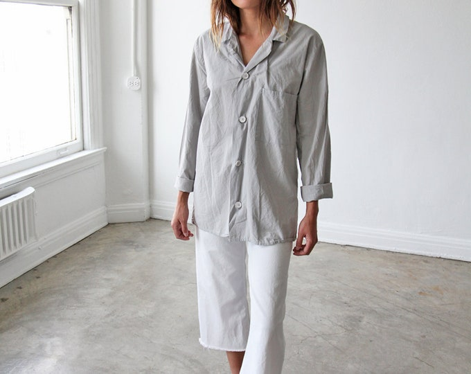 Painter's Smock Shirt - slate