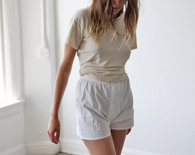 Leisure shorts - white