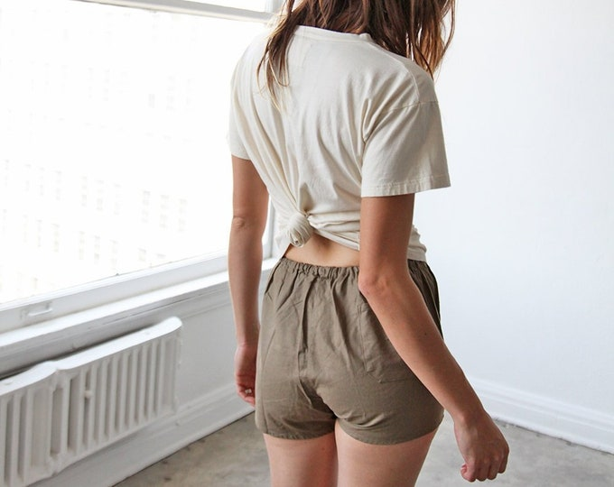 Leisure shorts - khaki