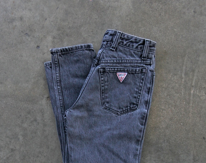 GUESS Black High Waist Jeans