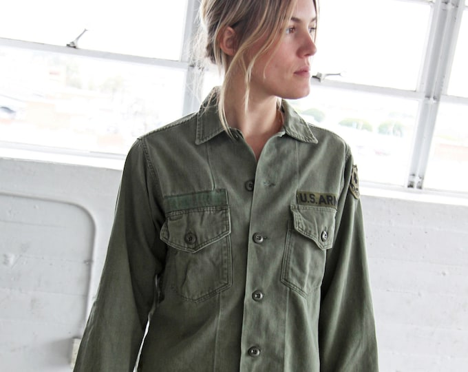 Olive Fatigue Shirt