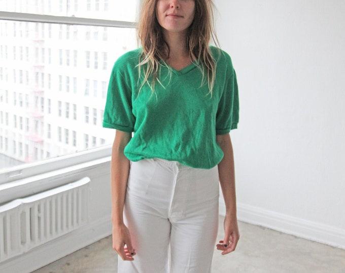 V-neck sweatshirt - vert