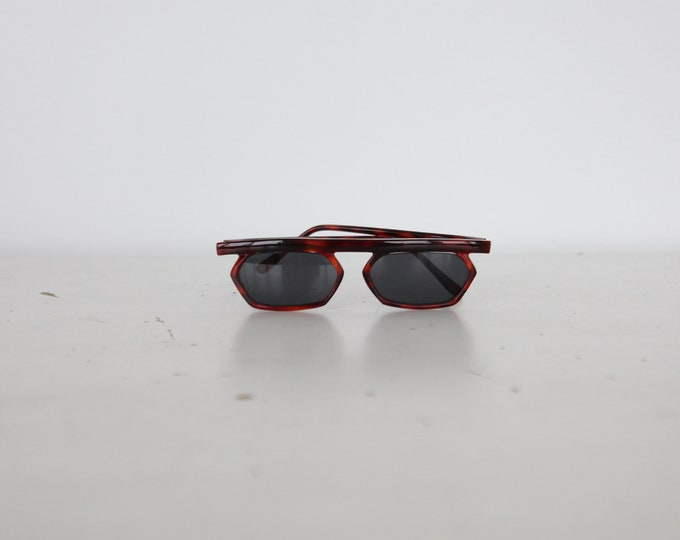 1990s Hexagon Sunglasses