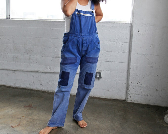 1940s French Chore Overalls
