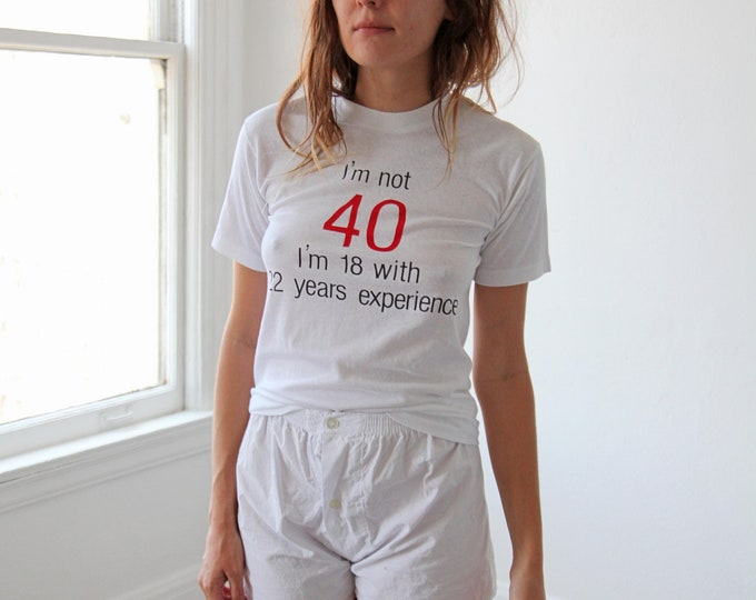 Not 40... tee