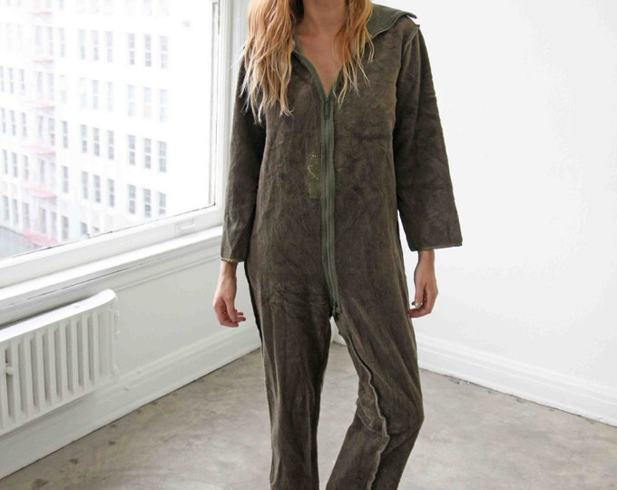 Teddy liner coveralls
