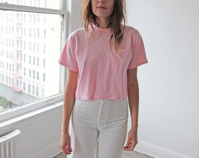 Pocket tee - pink
