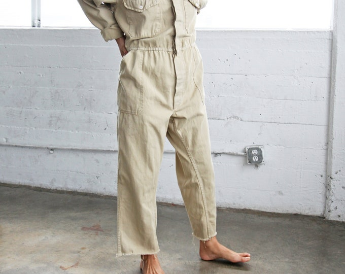 Utility Coveralls - sand