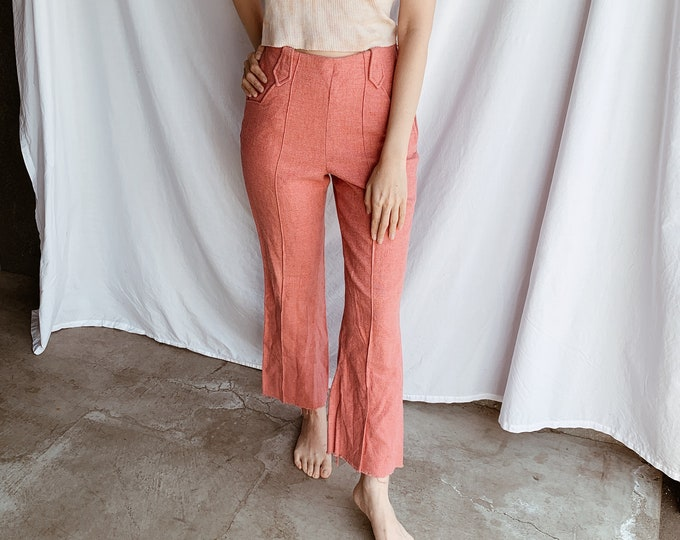 Western wool trousers