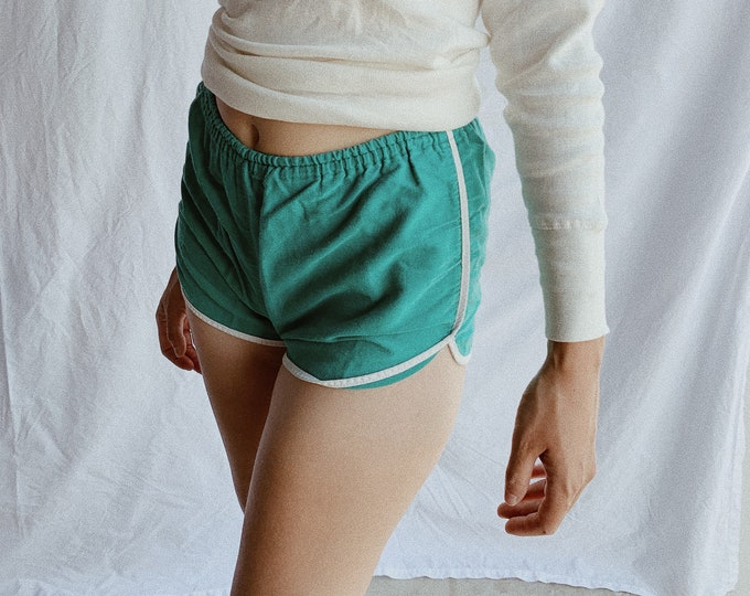 Cotton gym shorts - vert