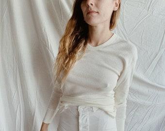 Cotton u-neck