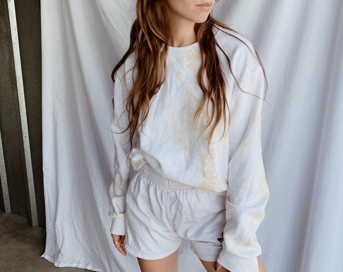 Tie-dye sweatshirt - sable