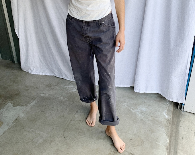 Canvas work pants