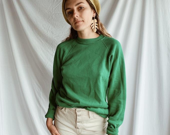 Vintage crewneck - vert