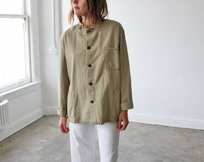 Overdyed Chore Coat - khaki