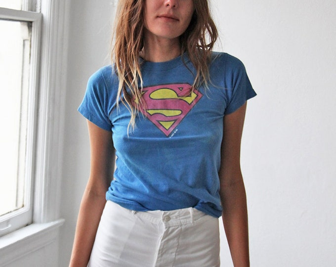 Superman baby tee