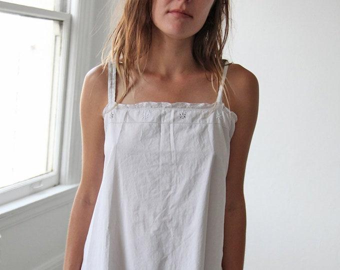 French cotton dress