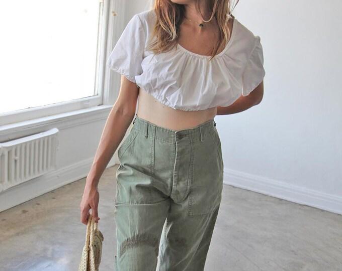 Cotton provençal blouse