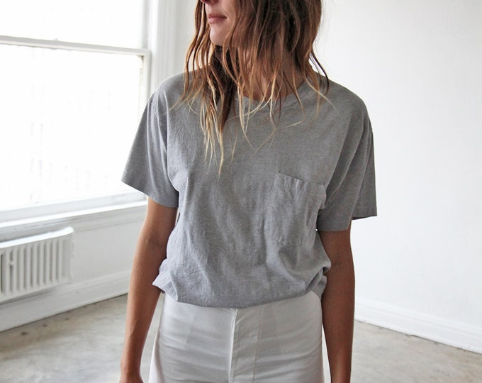 Perfect pocket tee - grey
