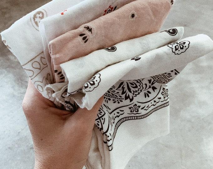 Vintage bandana - colors available