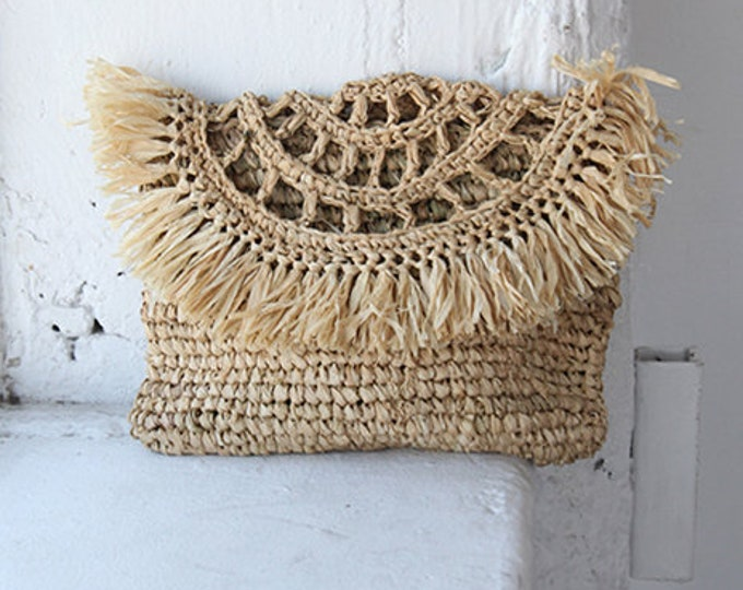 Grass Clutch - natural