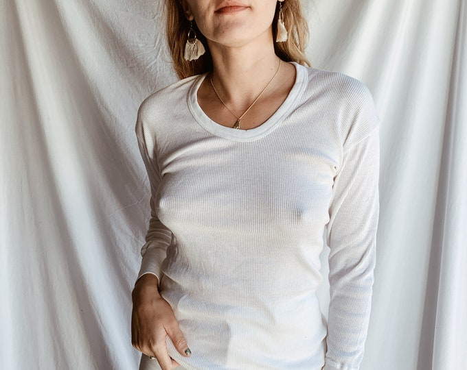 Cotton ribbed thermal