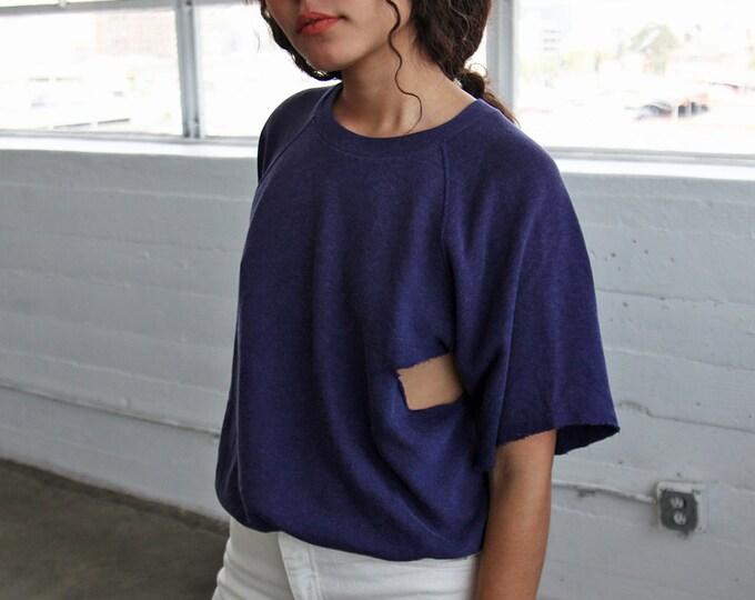 1970s Holey Raglan Sweatshirt