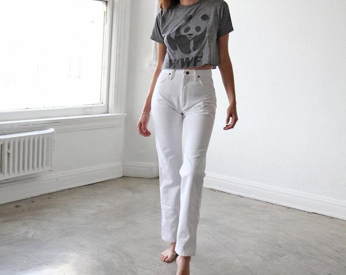 White WRANGLER jeans - size 24/25