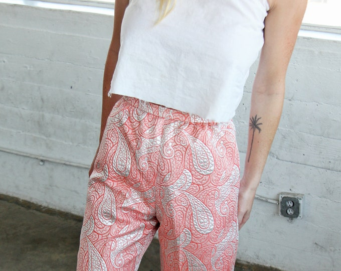 SALE 60% OFF Brocade Quilted Fancy Pants