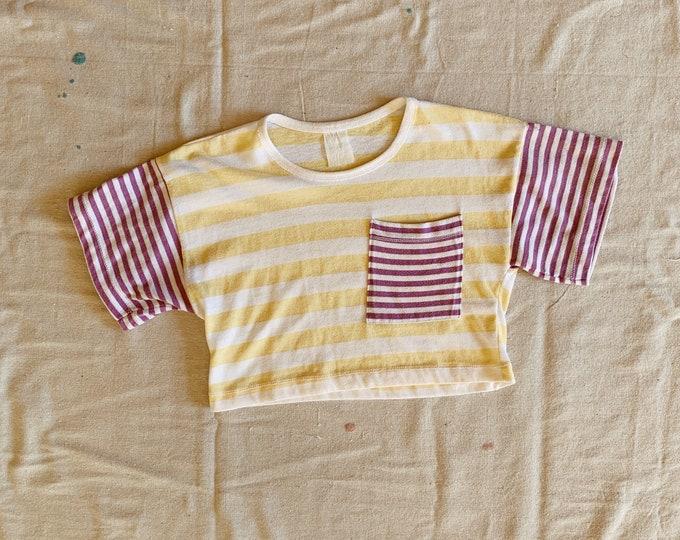 Lemon striped t