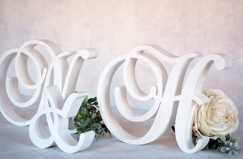 Festive & Party Supplies Generous Mr And Mrs Letters Sign Wooden Standing Top Sweetheart Table Wedding Party Decor