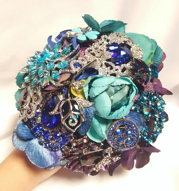 READY to SHIP Payment Custom Brooch Silk Floral Bouquet