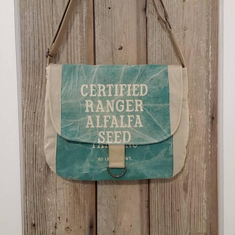 Vintage 1960/'s Certified Ranger Alfalfa seed sack ReCreated