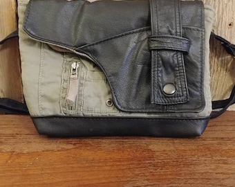 The Hipster - upcycled and updated fanny pack