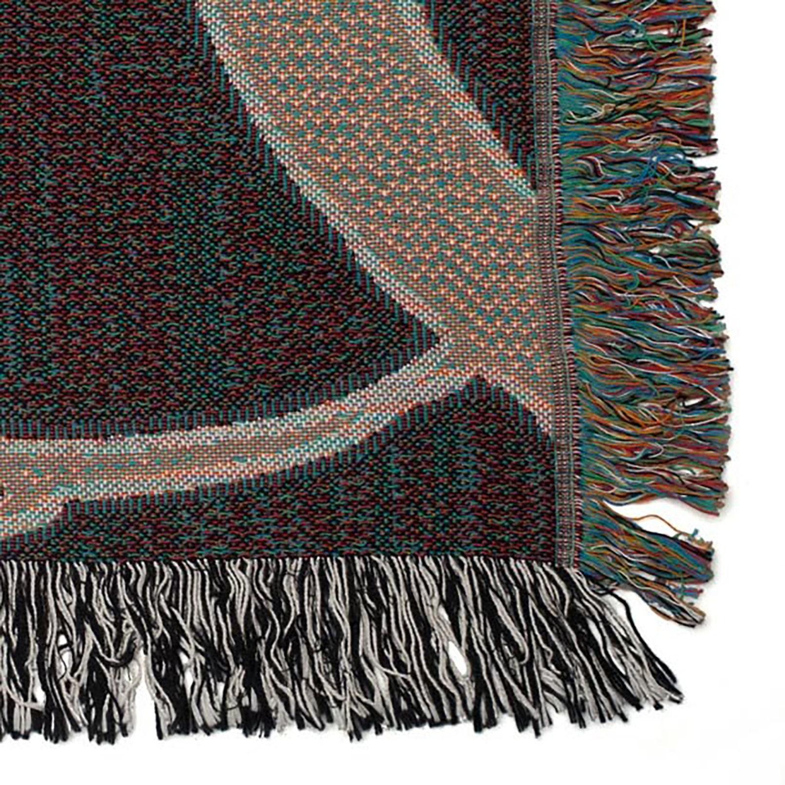 Werfen Decke gewebte Baumwolldecke Tier Kunst