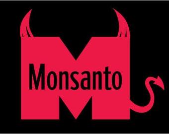 Monsanto Devil t shirt
