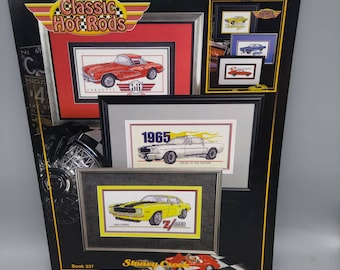 VINTAGE CAR ~ Counted Cross Stitch KIT #K993 FORD SHELBY