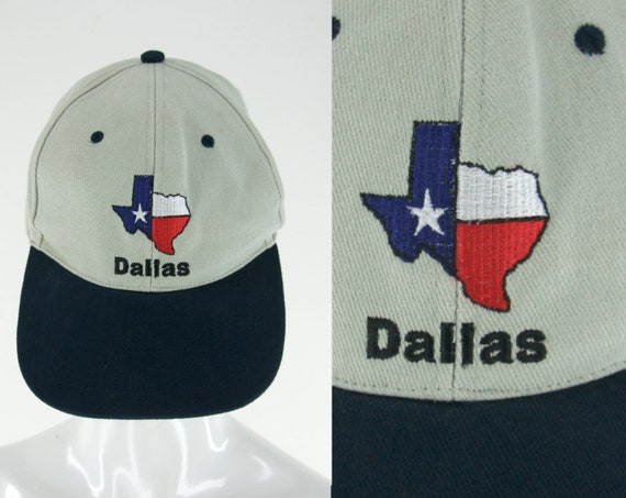 3854697c22202b Dallas Texas Embroidered Baseball Cap Ball Hat One Size Fits | Etsy