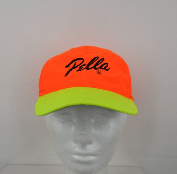 c00ffce0504 Neon Orange and Yellow Pella Snapback Hat One Size Fits All
